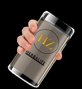 Drinking HerbalZilla Herbalife Protein Shakes